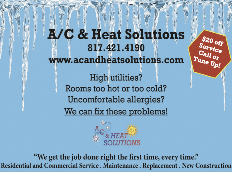 AC and Heat Solutions ad 2021