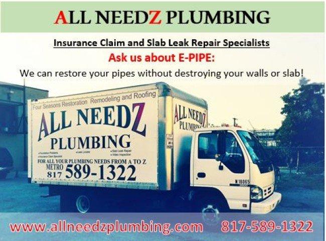 All Needz Plumbing ad