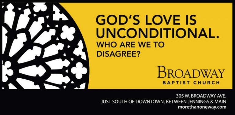 Broadway Baptist Church ad