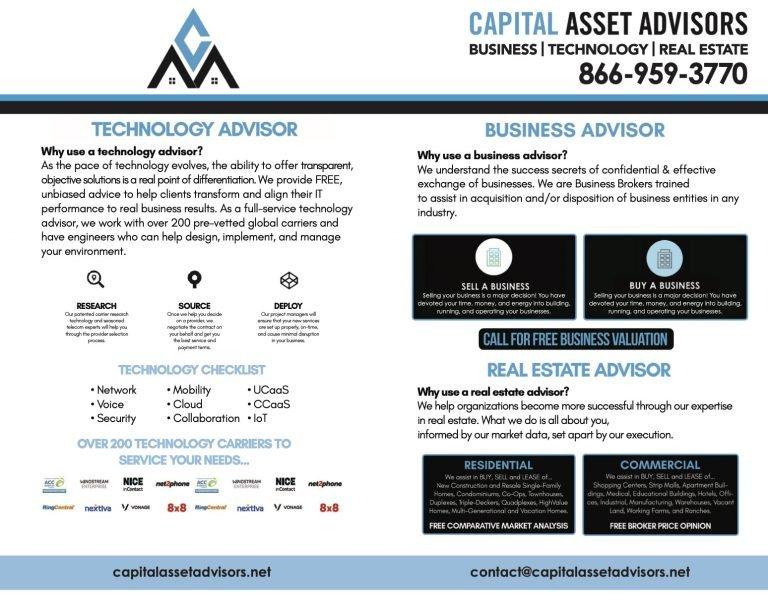 Capital Asset Advisors ad