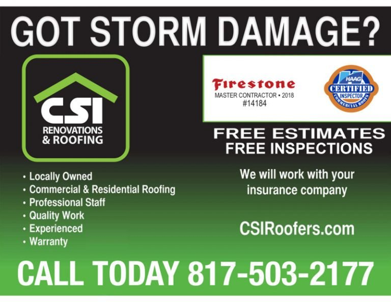 CSI Roofing and Renovations ad