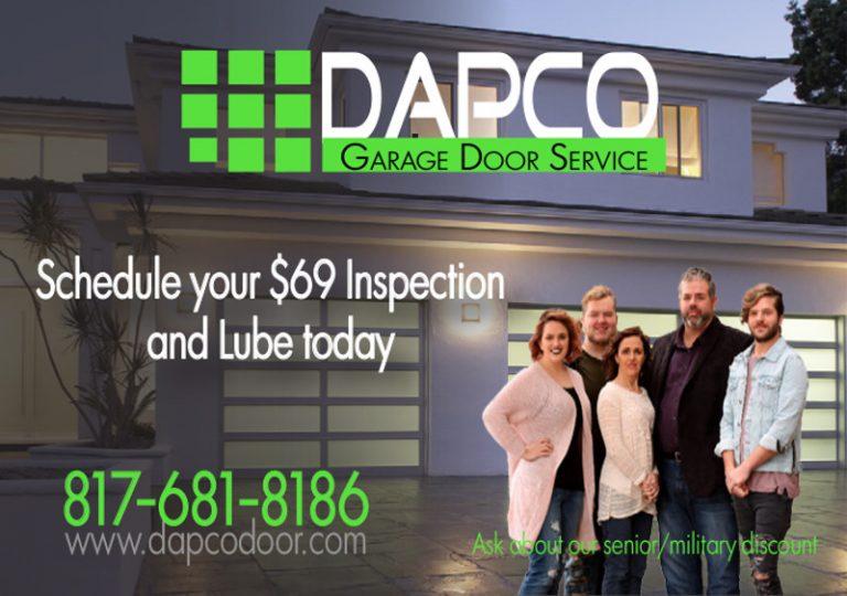 DAPco Garage Door Service ad