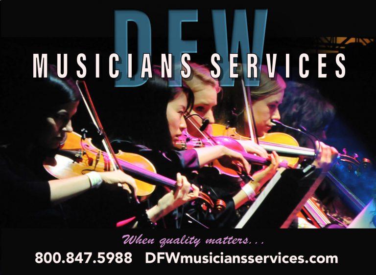 DFW Musicians Services ad