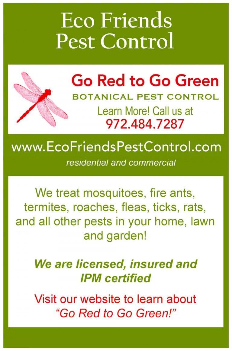 Eco Friends Pest Control ad