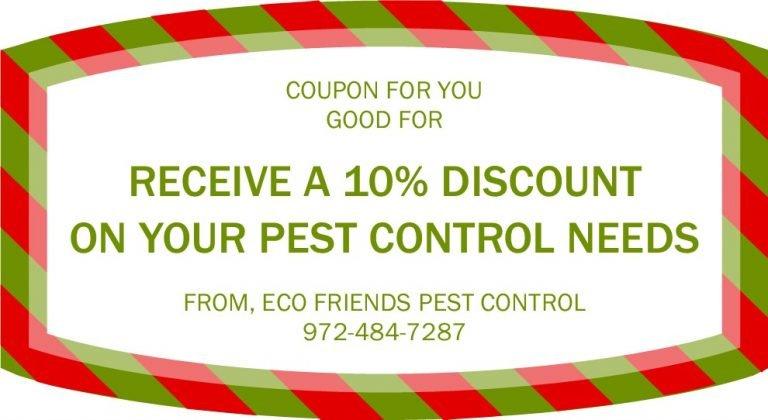 Eco Friends Pest Control coupon