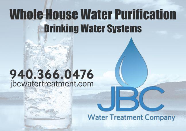 JBC Water Treatment Company ad