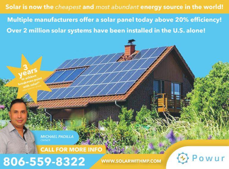 Powur Solar ad