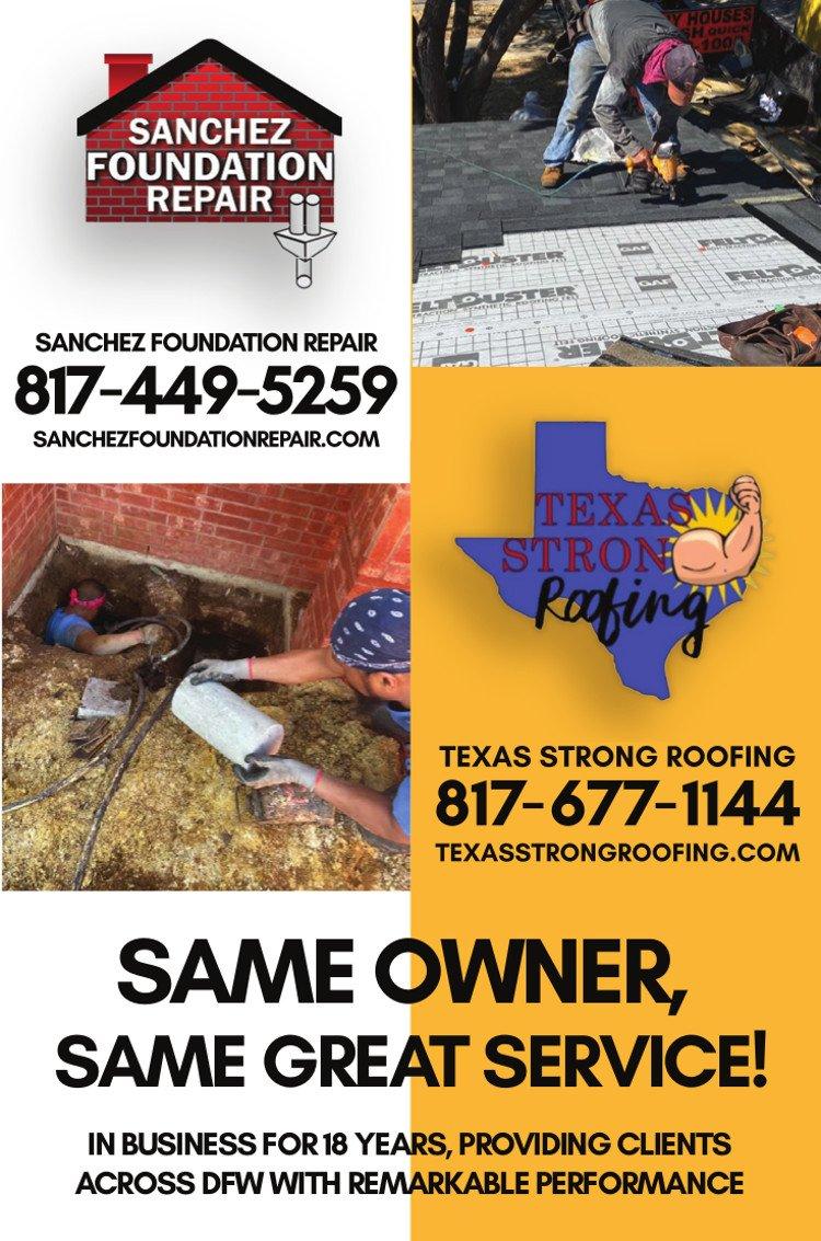 Sanchez Foundation Repair ad
