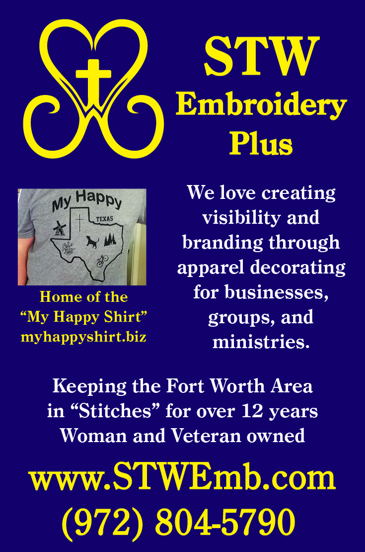 STW Embroidery Plus ad