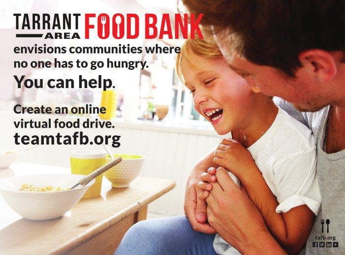 Tarrant Area Food Bank ad
