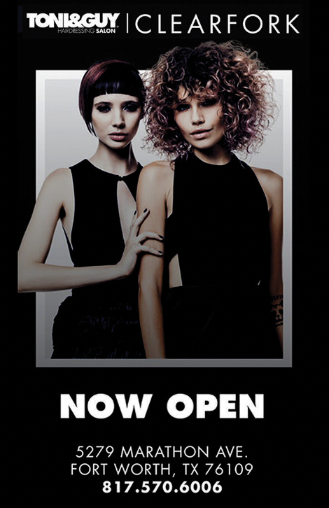 TONI&GUY Hairdressing ad